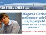 Magnus Carlsen zwycięża Tata Steel 2013