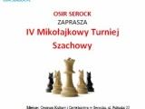 IV Mikołajkowy Turniej Szachowy w Serocku (Fide Szybkie)