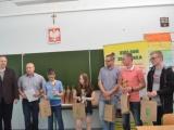 Sebastian Sentowski na podium w Przedwakacyjnym turnieju w Zielonce